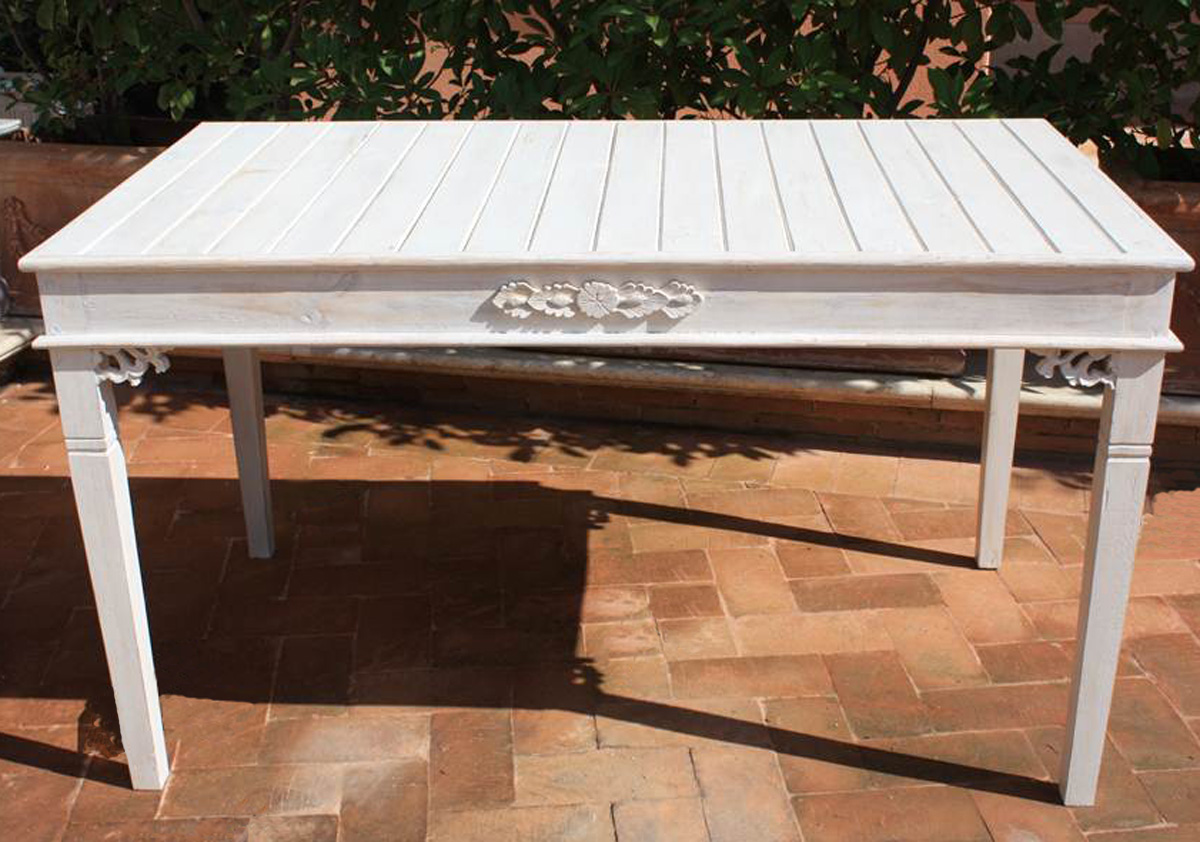 Shabby tavolo rettangolare for Tavolo rettangolare