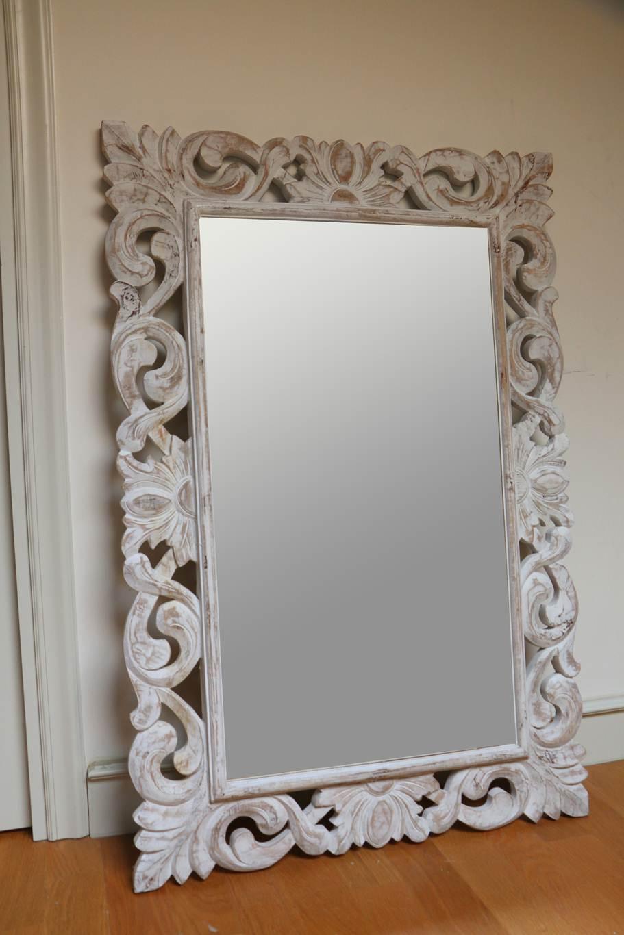 Shabby specchio for Specchio shabby
