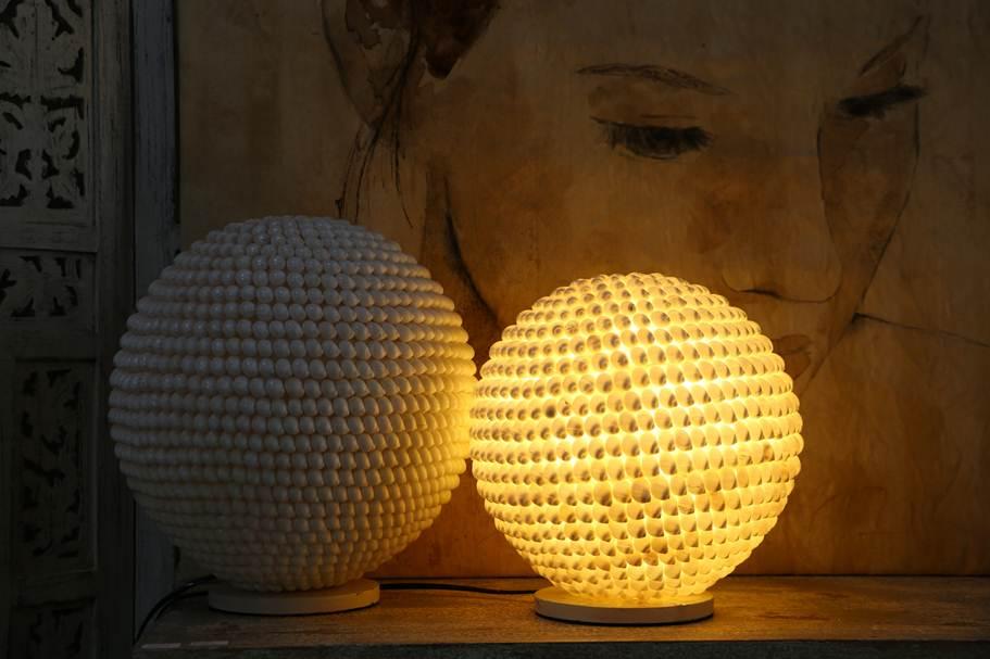Lampade con conchiglie eccezionale fantastiche immagini su