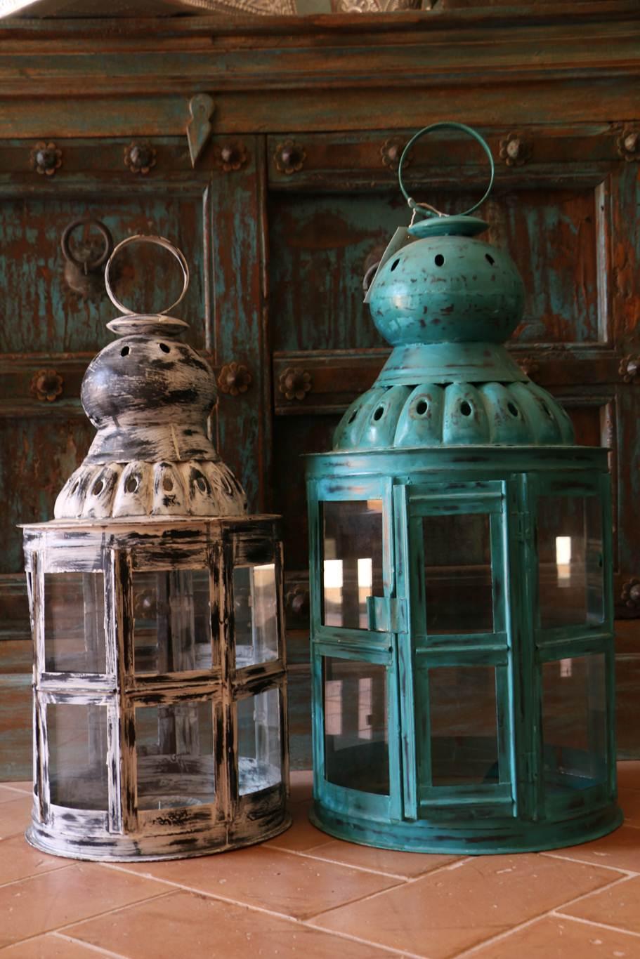 orientale lanterne indiane. Black Bedroom Furniture Sets. Home Design Ideas