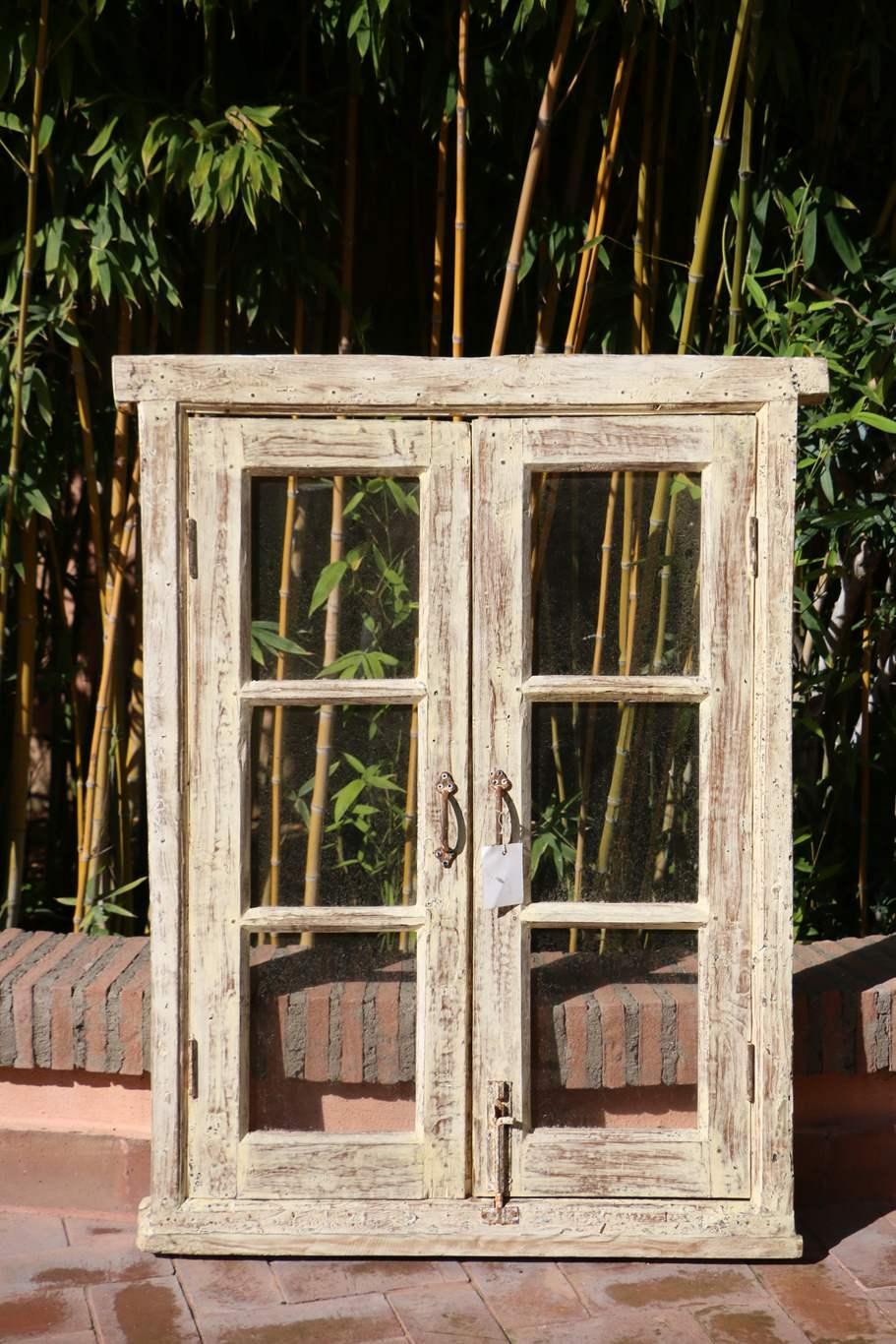 India finestra indiana for Finestra legno antica