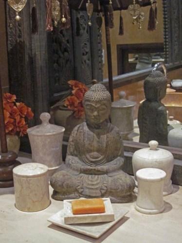 oggettistica bagno in marmo